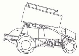 Small Picture Dirt Track Race Car Coloring Pages Coloring Coloring Pages