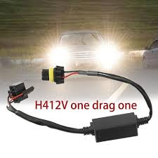 telescopic hid bixenon h4 wiring harness controller for car auto h4 wiring harness upgrade telescopic hid bixenon h4 wiring harness controller for car auto headlight retrofit connector dc 12v