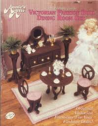 plastic dollhouse furniture sets. free plastic canvas pattern victorian fashion doll dining room set dollhouse furniture sets u