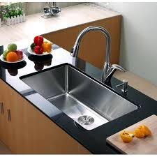 kraus undermount sink inch single bowl gauge stainless kraus undermount sink 32
