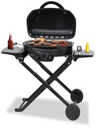 deluxe outdoor lp gas barbecue grill blue rhino
