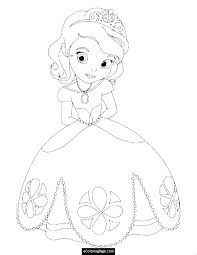 Disney Princess Coloring Pages Cinderella Princess Coloring Pages