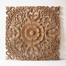 natural wooden wall art panel