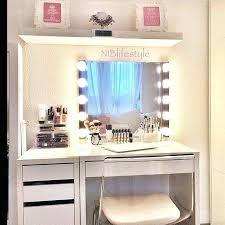 white vanity fresh in perfect makeup vanities ikea table