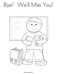 We Will Miss You Coloring Pages Az Coloring Pages pertaining to I ...
