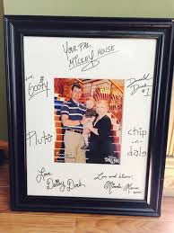 our favorite autographed item from the cruise