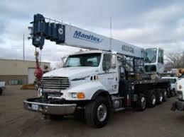 Telescopic Boom Truck Cranes Truck Utilities