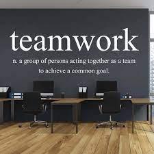 Teamwork Explanation Office Wallpaper ...
