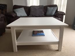 ikea hemnes coffee table in white