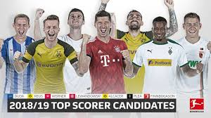 Bundesliga Bundesliga Top Scorer 2018 19 The Challengers