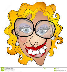 Image result for cartoon illustration of a amused woman