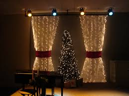 Christmas Curtains for Living Room Ideas