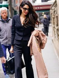 Amal Clooney Style | A blog about Amal's news & style | Amal clooney,  Fashion, Stylish women