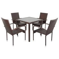 wicker patio dining furniture. Image Of: Wicker Patio Dining Table Ideas Furniture