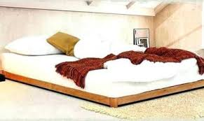 Low Wooden Bed Frames | Wooden Thing