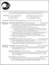 hr director resume resume of hr generalist hr resume hr resume pinterest hr resume sample resume human resource resume template