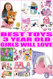 Toys for 3 yr old girls