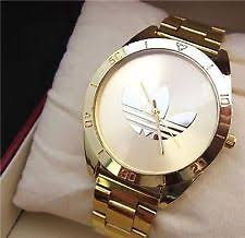 adidas watch adidas watch unisex men women gold colour stainles steel