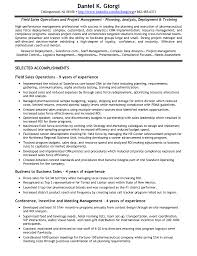 Collection of Solutions Sample Salesforce Resume With Free .