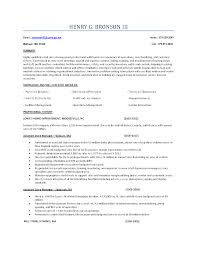 Fashion Store Manager Sample Resume Management Trainee Sample