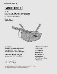 sears craftsman 1 2 horsepower garage door opener beautiful high quality craftsman garage door opener installation