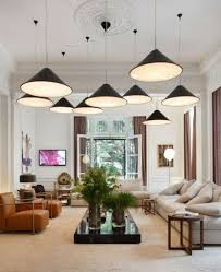 living room lighting ideas elegant pendants