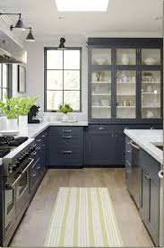 Black and white is truly a natural with some wood accents as you can see  here in this half and half kitchenkind of reminds me of my favorite black  and ...
