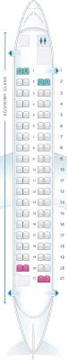 De Havilland Dash 8 400 Seating Chart Seat Map Airbaltic Bombardier Q400 Seatmaestro