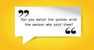 Quotes Quiz