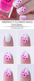 5 Nail Designs 60 Flower Nail Designs Pictures With Tutorials Yve Style Com