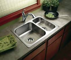 top mount sink with granite countertops awesome stainless kitchen sinks drop in fort bend lifestyles homes function and flair in your top mounted