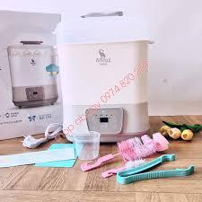 Máy tiệt trùng hơi nước, sấy khô, làm ấm sữa Moazbebe MB011 | Dụng cụ tiệt  trùng & giữ ấm