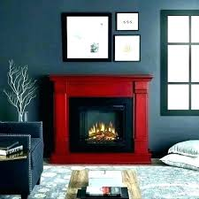 artificial fireplaces black gas how do electric work corner