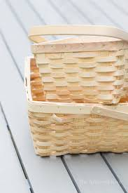how to turn baskets into produce storage