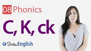 Phonics worksheets and free printable phonics workbooks for kids. English Phonics Consonants C K And Ck Youtube