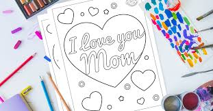 Say i love you mom to your mother on this mother's day by filling colors in these printable coloring pages available for free to everyone. Free Download The Sweetest I Love You Mom Coloring Pages