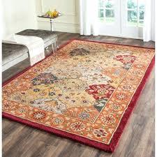 wool rug 4 x 6 rugs handmade heritage traditional multi red wool rug wool area rug