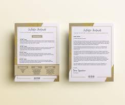 Modern Resume Cover Letters Modern Resume Cover Letter Templates Resume Cover Letter Etsy