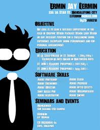 My Old Designer's Resume by ExtremeJuvenile