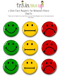 Weekly Behavior Chart Smiley Faces Bedowntowndaytona Com