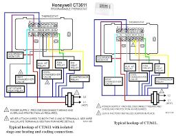honeywell thermostat rth6350d wiring diagram dolgular com honeywell heat only thermostat wiring at Old Honeywell Thermostat Wiring Diagram
