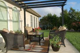 image of outdoor area rugs and furniture