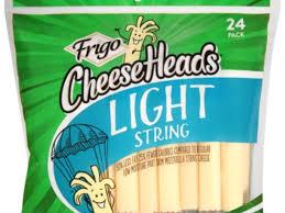 Light Mozzarella Cheese Nutrition Frigo Cheeseheads Light String Cheese Nutrition Facts
