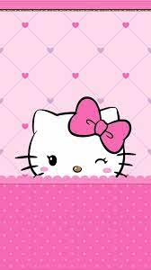 Hello Kitty Pink iPhone Wallpapers ...