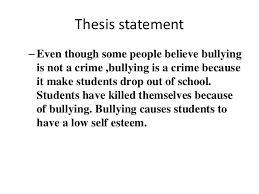 outline of thesis example essay pro call center supervisor cover cyberbully thesis