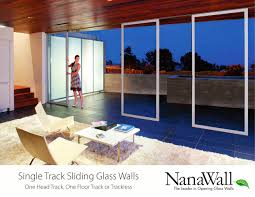 single track sliding glass walls 1 13 pages