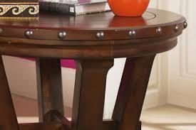 rustic round end table. Rustic Round End Table From Gardner-White Furniture A