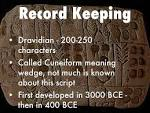 indus Valley Civilization Record Keeping