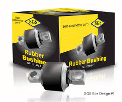 Rubber Bushing Design Professional Bold Automotive Packaging Design For Sgs