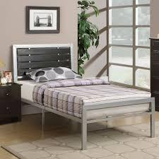 metal bedroom sets. silver metal bedroom sets photo - 3